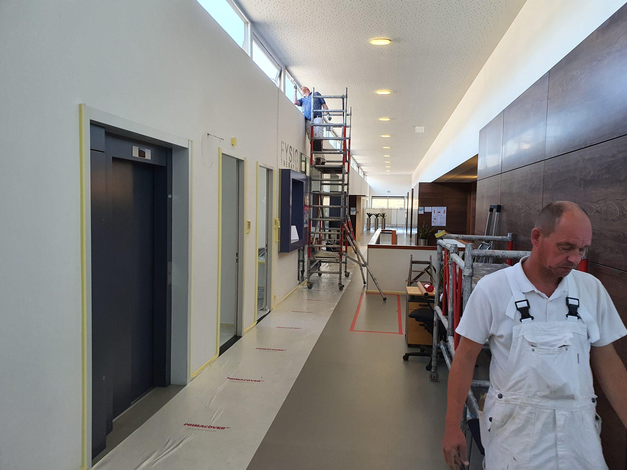 Pruis Schilderwerken Gezondheidshuis Zwolle